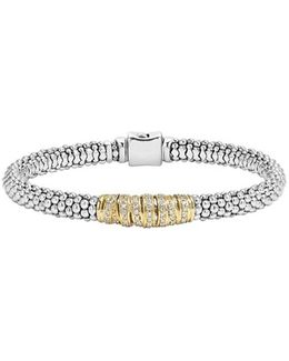 'diamonds & Caviar' Diamond Bracelet