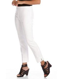 Stretch Woven Capri Pants