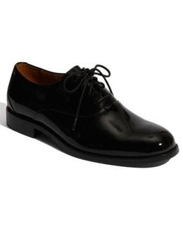 'kingston' Patent Leather Oxford