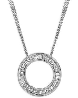 'circle Of Life' Medium Diamond Pendant Necklace (nordstrom Exclusive)