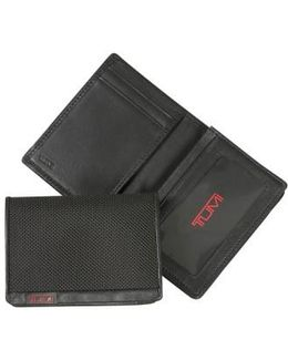 'alpha' Id Lock(tm) Gusseted Card Case