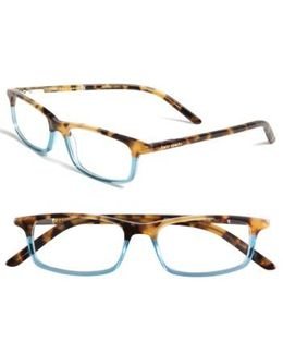 Jodie 50mm Reading Glasses - Havana Teal