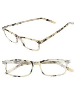 Jodie 50mm Reading Glasses - Milky Tortoise
