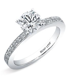 Channel Set Diamond Engagement Ring Setting (nordstrom Exclusive)
