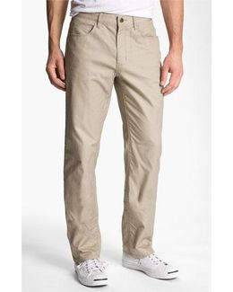 Classic Fit Straight Leg Pants