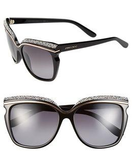 58mm Retro Sunglasses