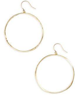 'g Ring' Hoop Earrings