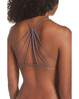Seamless Ruched Bikini Top