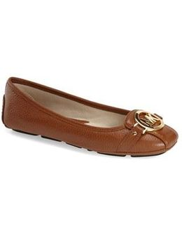 Fulton Leather Ballet Flats