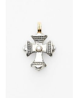 'kassandra' Small Maltese Cross Pendant