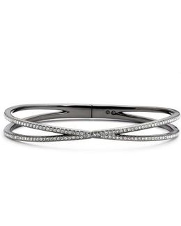 Pave Hinged Crossover Bracelet (nordstrom Exclusive)