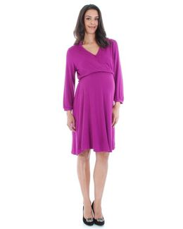 Sicily Stretch-Jersey Maternity Dress