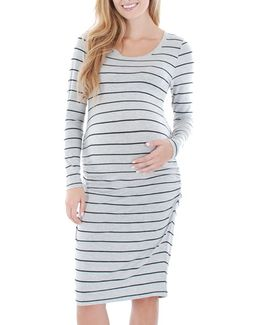 'hanh' Maternity T-shirt Dress