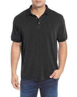 'new Pebble Shore' Short Sleeve Polo