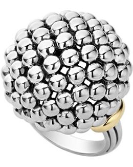 'caviar Forever' Large Dome Ring