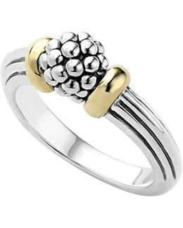 'caviar Forever' Small Dome Ring