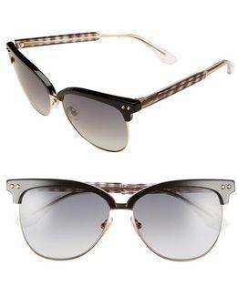 'aryaya' 57mm Retro Sunglasses