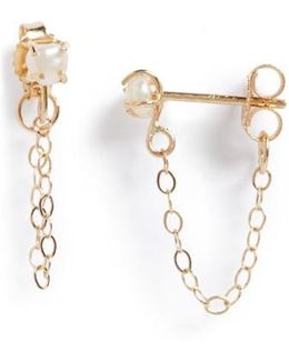 Keshi Pearl Ear Chains