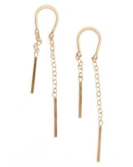 Gold Threader Earrings