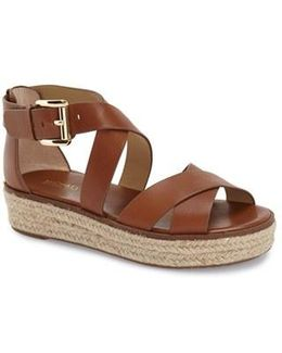 Darby Crisscross Espadrille Sandals