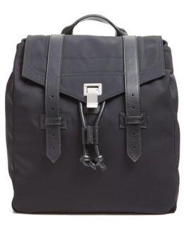 'ps1' Nylon Backpack