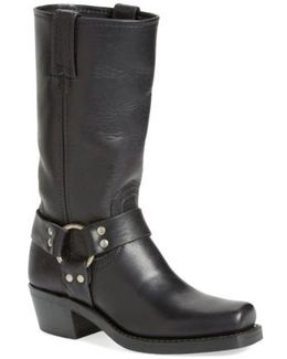 Harness 12R Leather Knee-High Boots