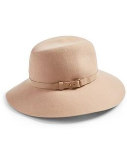 'fanny' Water Repellent Wool Fedora