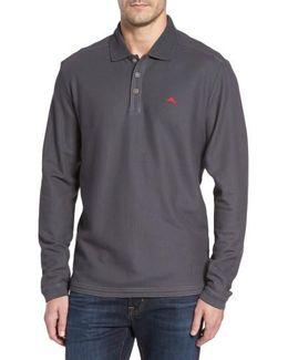 'emfielder' Long Sleeve Polo