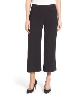Zip Pocket Culottes