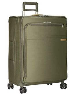 'baseline' Large Expandable Rolling Packing Case