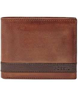 'quinn' Leather Bifold Wallet