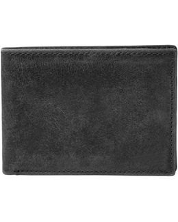 'anderson' Leather Front Pocket Bifold Wallet