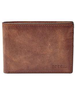 'derrick' Leather Front Pocket Bifold Wallet