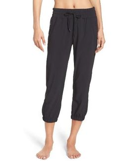 Out & About Crop Joggers