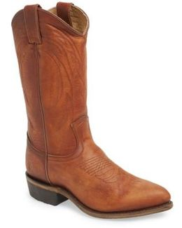 Billy Leather Western Boots