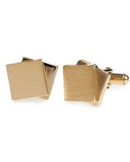 Dual Plaques Cuff Links