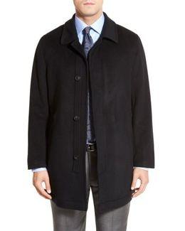 'douglas' Classic Fit Wool & Cashmere Overcoat