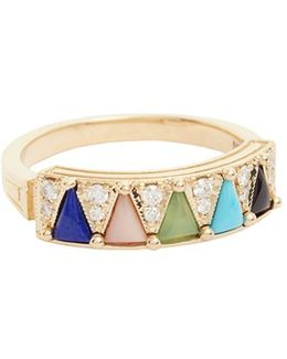'mega' Five Triangle Ring