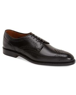 Madison Park Leather Brogues