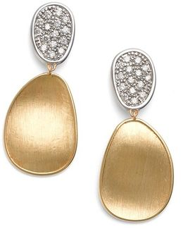 Lunaria Diamond Drop Earrings