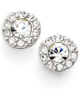 Small Crystal Stud Earrings