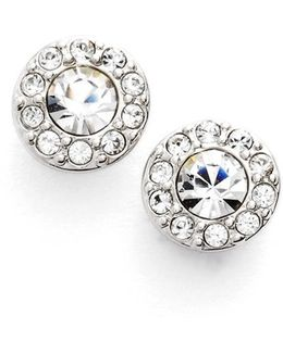 Small Crystal Stud Earrings