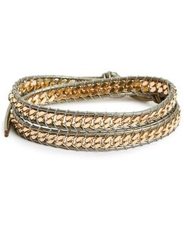 Curb Chain Wrap Bracelet
