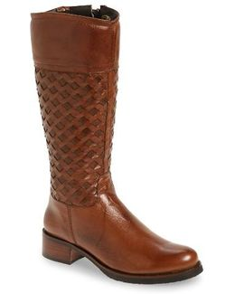 'zavelia' Woven Shaft Boot