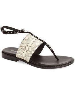 'lacy' Ankle Strap Sandal