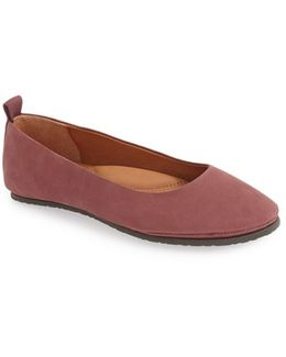 Dana Leather Flats