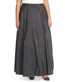 Taffeta Ballgown Skirt