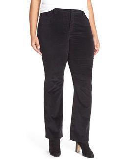 'billie' Stretch Mini Bootcut Corduroy Pants