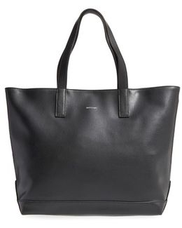 'schlepp' Faux Leather Tote