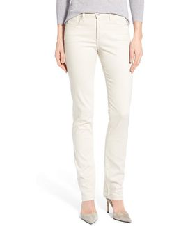 'samantha' Stretch Slim Straight Leg Jeans